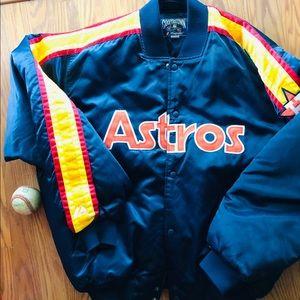 Houston Astros 1980's Cooperstown Vintage Jacket